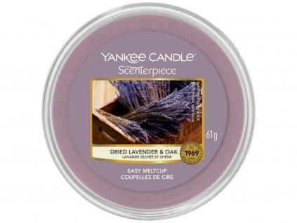 yankee candle dried lavender oak easy meltcup