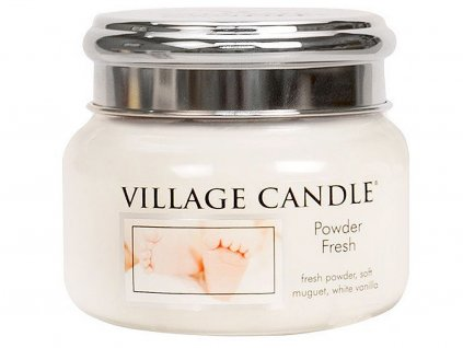 village candle svicka powder fresh mala