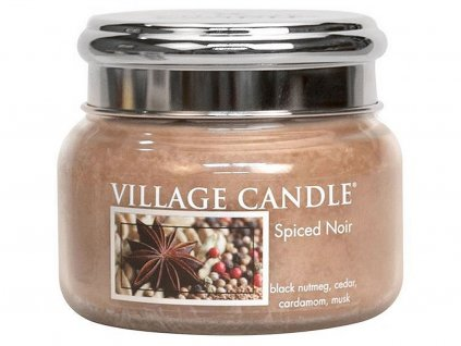 village candle svicka spiced noir mala