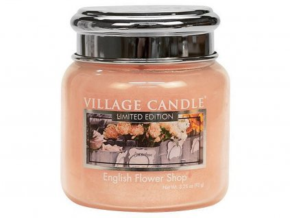 village candle english flower shop stredni