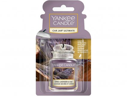 yankee candle gelova visacka vune do auta dried lavender oak
