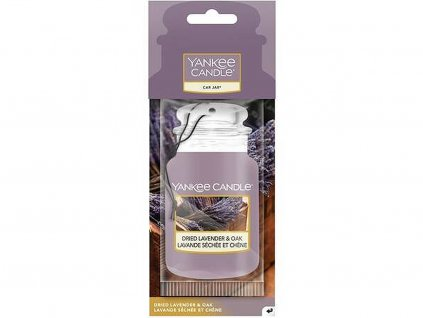 yankee candle visacka vune do auta dried lavender oak