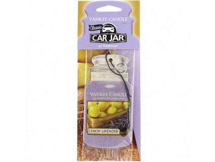 yankee candle papirova visacka lemon lavender vune do auta