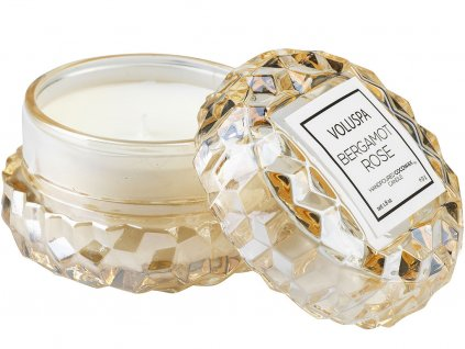 voluspa svicka macaron candle bergamot rose 1