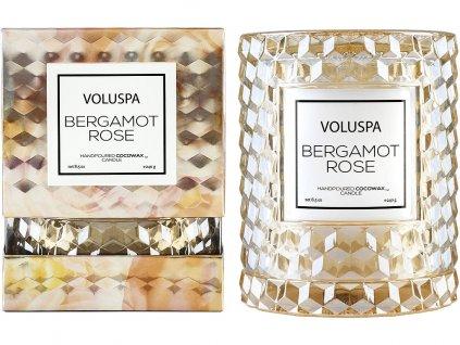 voluspa svicka icon bergamot rose 1