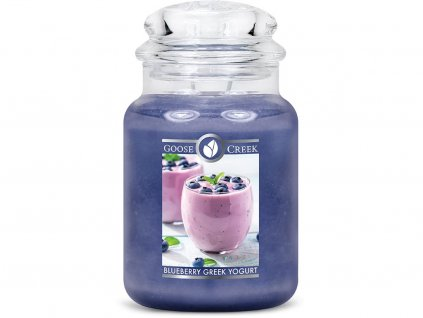 goose creek svicka blueberry greek yogurt boruvkovy recky jogurt