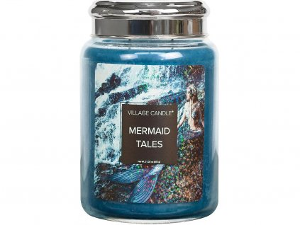 village candle svicka mermaid tales