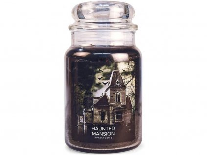 village candle svicka halloween haunted maison