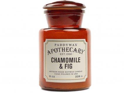 paddywax svicka apothecary chamomile fig