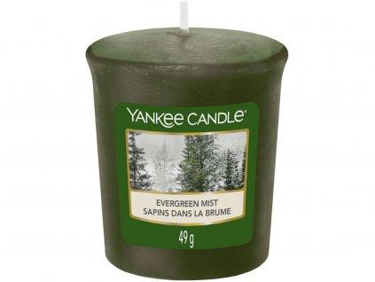 yankee candle evergreen mist votivni