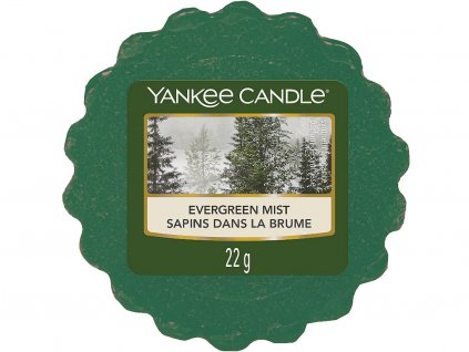 yankee candle evergreen mist vosk