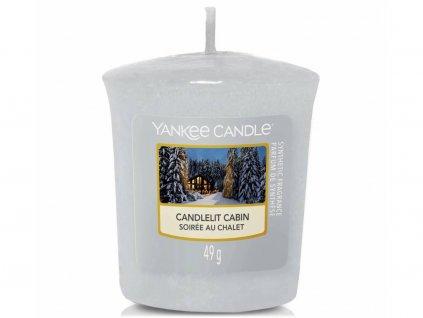 yankee candle candlelit cabin votivni