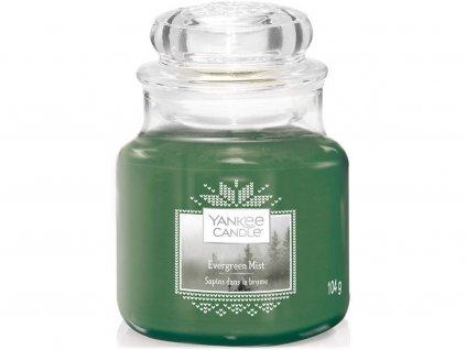 yankee candle svicka evergreen mist mala