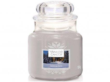 yankee candle svicka candlelit cabin mala