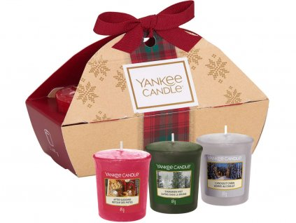 yankee candle vanocni darkova sada 3 votivni svicky 1