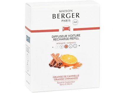 maison berger paris napln vune do auta orange cinnamon