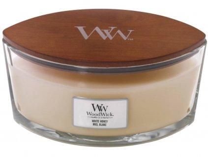 woodwick svicka white honey lodicka