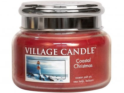 village candle coastal christmas mala