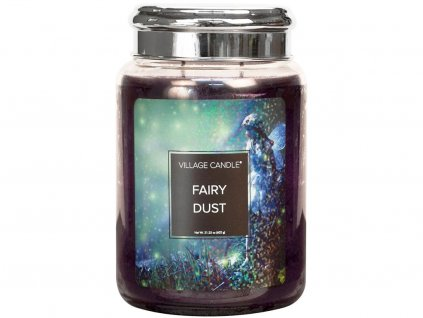 village candle fairy dust velka