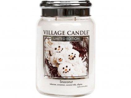 village candle snoconut velka
