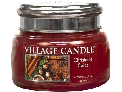 village candle christmas spice mala