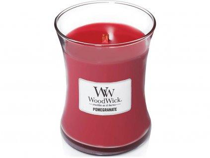 woodwick pomegranate svicka stredni