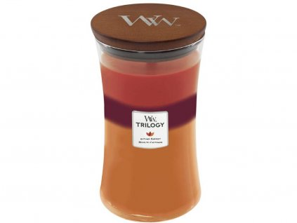 woodwick trilogy autumn harvest velka