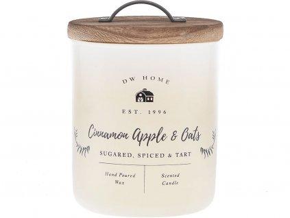 dw home svicka cinnamon apple oats