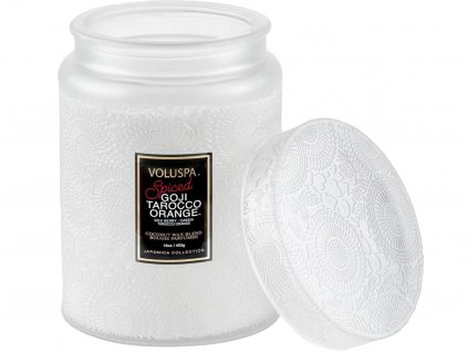 voluspa svicka spiced goji tarocco orange 2