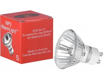 candlewarmers nahradni zarovka np5 25w gu10