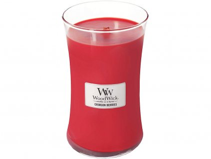 woodwick crimson berries svicka velka
