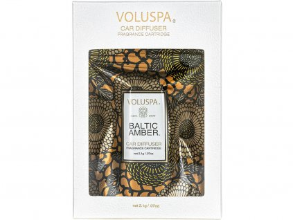 voluspa napln vune do auta baltic amber obal