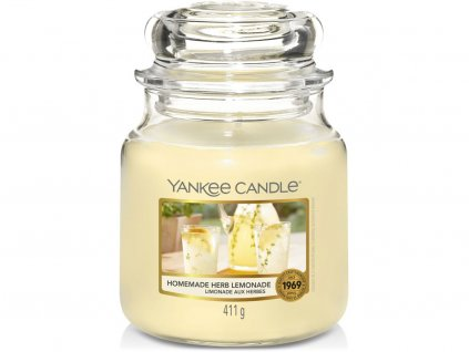 yankee candle homemade herb lemonade stredni