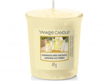 yankee candle homemade herb lemonade votivni