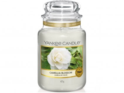 yankee candle camellia blossom velka