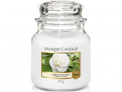 yankee candle camellia blossom stredni