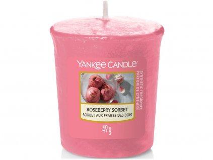 yankee candle roseberry sorbet votivni