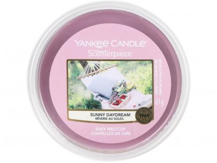 yankee candle melt cup sunny daydream