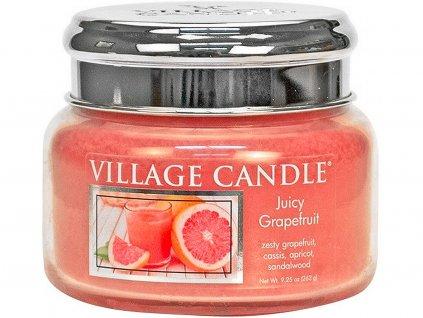 village candle juicy grapefruit mala