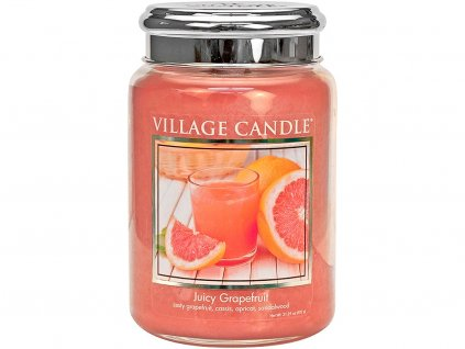 village candle juicy grapefruit velka