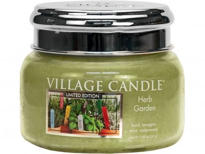 village candle herb garden mala
