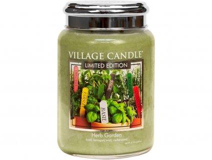 village candle herb garden velka