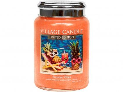 village candle summer vibes velka