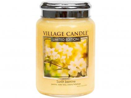 village candle svicka sunlit jasmine velka