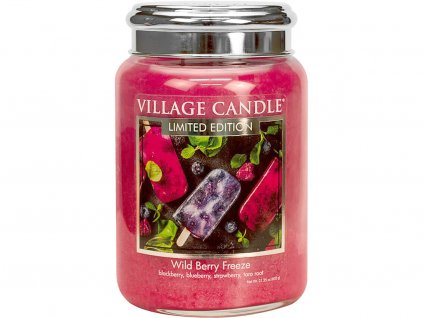 village candle svicka wild berry freeze