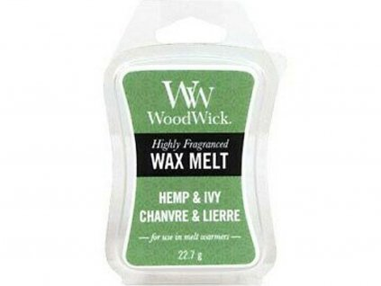 woodwick hemp ivy vosk
