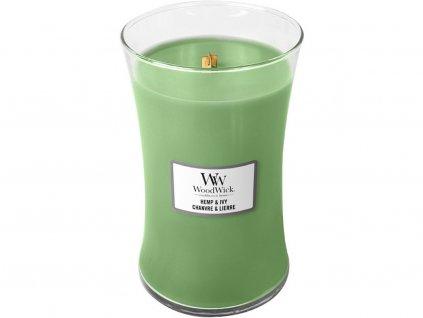 woodwick hemp ivy velka