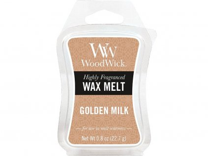 woodwick golden milk vosk