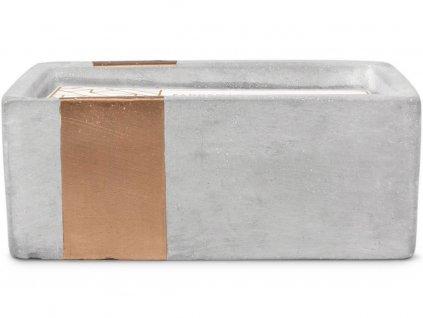 paddywax urban svicka beton bergamot mahogany 3 knoty
