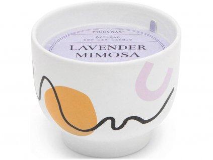 paddywax wabi sabi svicka lavender mimosa